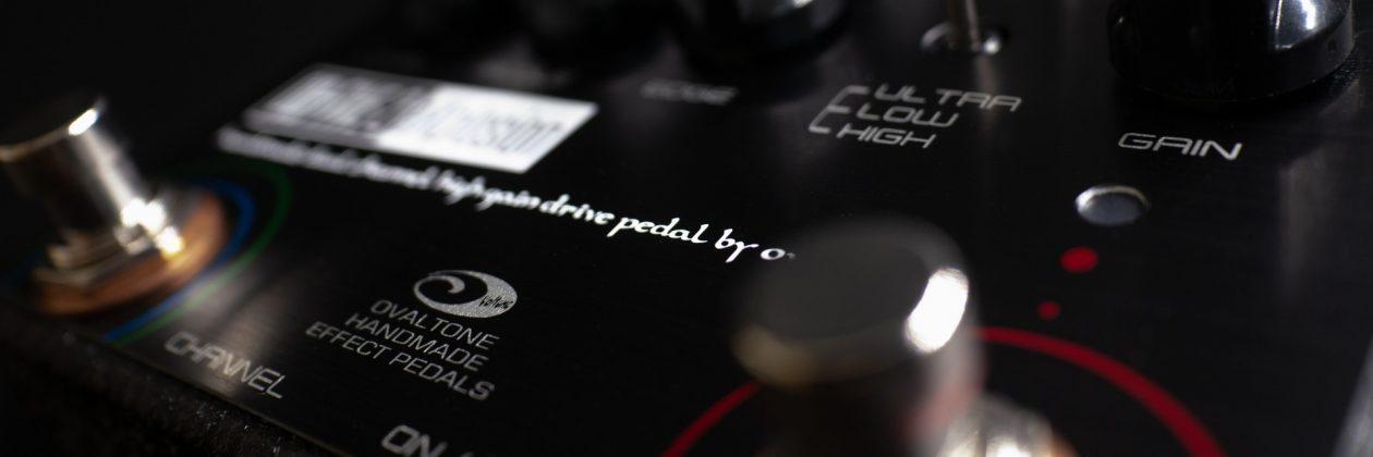 Ovaltone handmade effect pedals